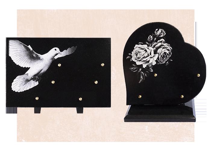 Catalogue plaques funéraires prêtes